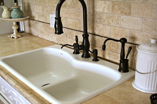 ... floor ceramic tile :-) Hometalk :: Kitchen Counters on a DEEP budget