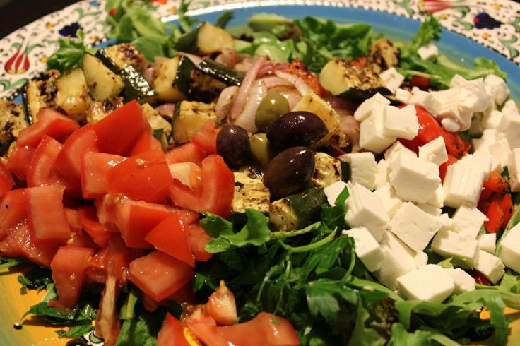Grilled Greatness: Grilled Greek-style Salad