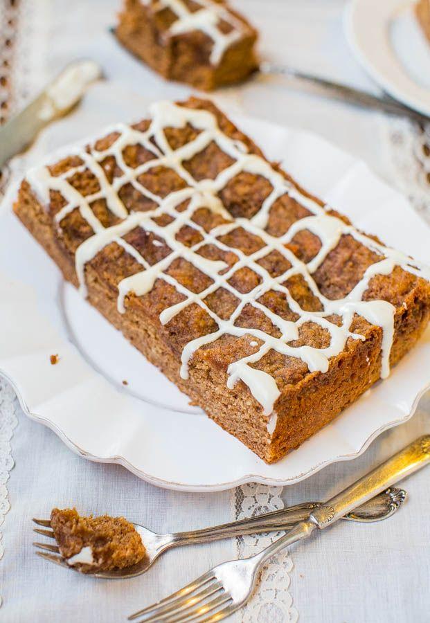 Brown Sugar-Topped Cinnamon-Sugar Coffee Cake with Vanilla Cream ...