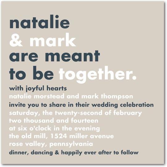 non religious wedding invitations. wedding invitation wording,