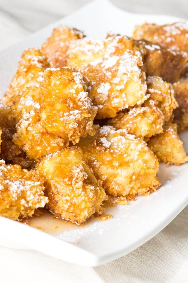 crunchy french toast bites | Food | Pinterest