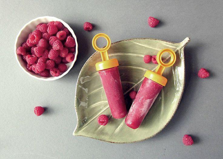 raspberry pops | Ice Pop Recipes | Pinterest