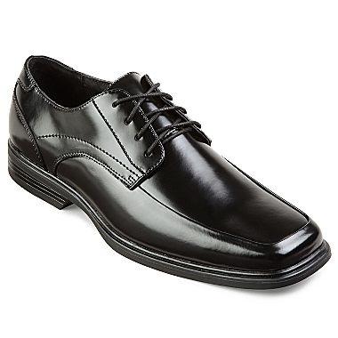 claiborne mens oxford lace up dress shoes jcpenney