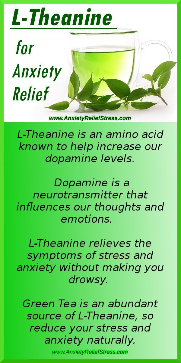 Theanine for anxiety relief find out how this amino acid in green