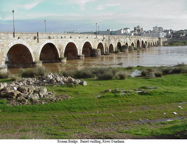 Merida Roman bridgeRoman Bridges