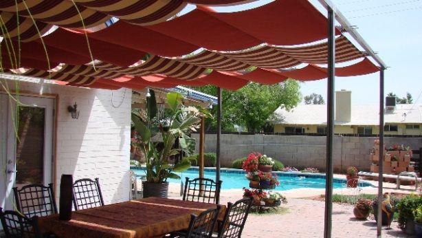 Diy Backyard Canopy Ideas : Diy Patio Shade Ideas  myideasbedroomcom