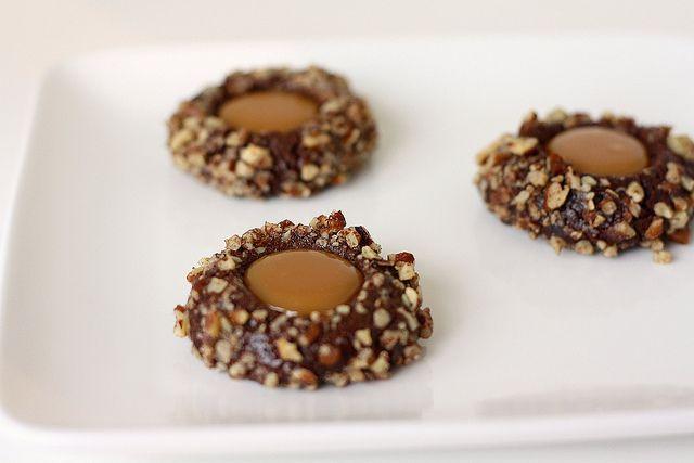 Chocolate Turtle Cookies | Cookies | Pinterest