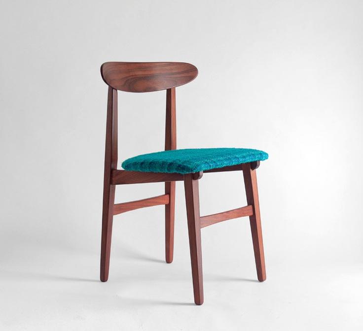 Mid century wood chairs modern dining danish retro for Retro modern dining chairs
