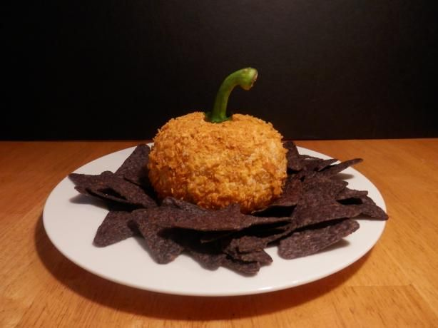 Pumpkin Nacho Cheese Ball. Photo by cupcakeRAE
