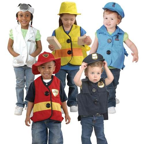 Toddler dress up vests amp hats 59 99 maybe make a home made version