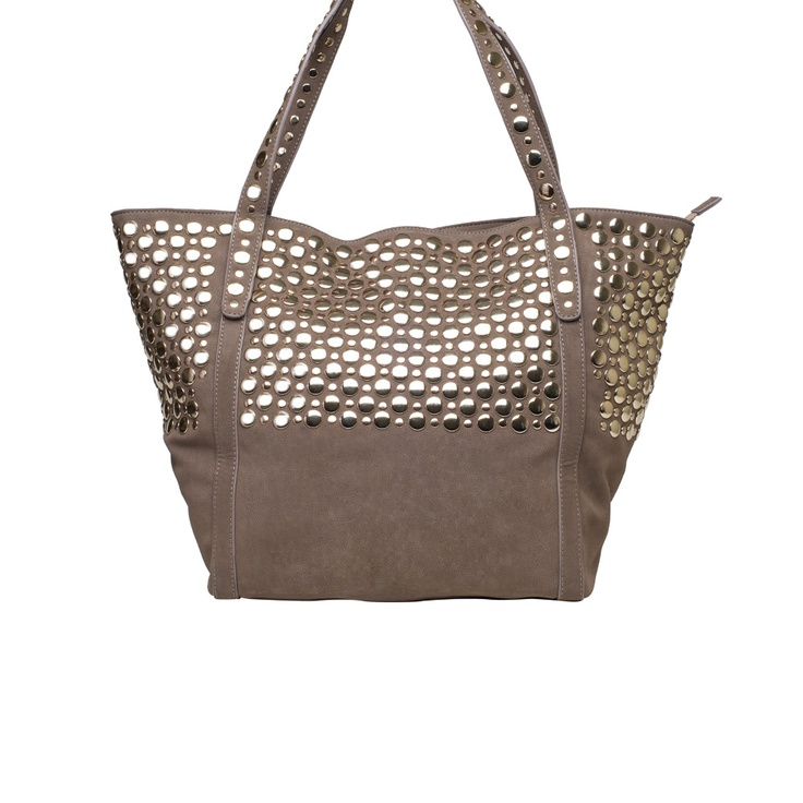 Lionel Carolyn Studded Shoulder Bag 8