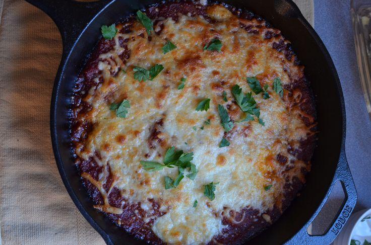 Easy Skillet Eggplant Parmesan | COMFORT FOODS | Pinterest
