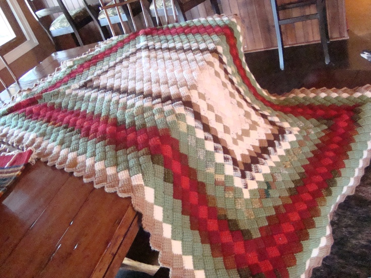 Crocheting Quilts : crocheted quilt Hooked on blankets Pinterest