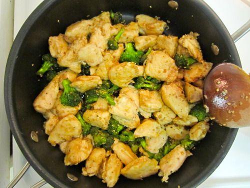 Lighter Sesame Chicken. | Food | Pinterest