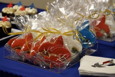 Edible favors for Court of Honor.