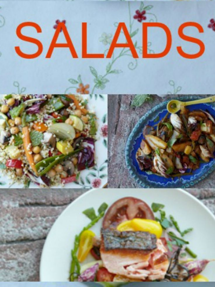 Four Fantastic Summer Salads - What's your favorite?