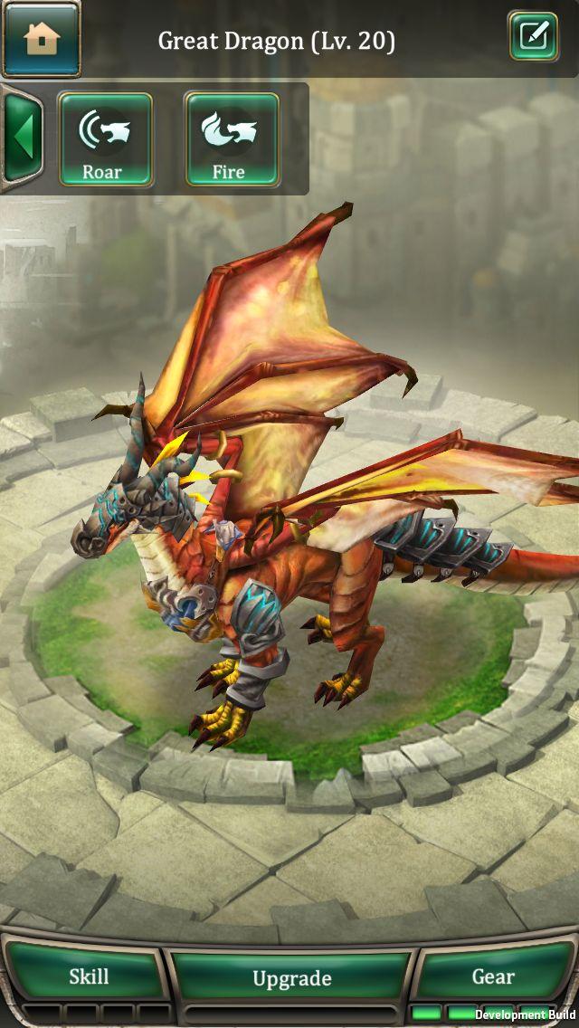dragons of atlantis mobile