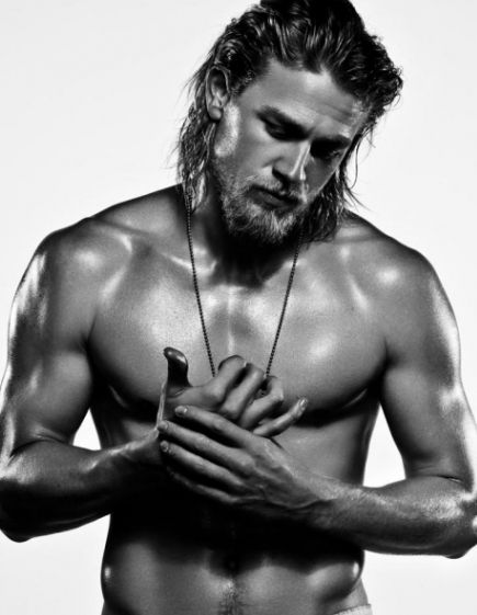 My husband watches Sons of Anarchy for the story. I watch it to look at this guy!