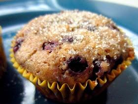 Gluten Freedom: Sweet Vegan Blueberry Corn Muffins