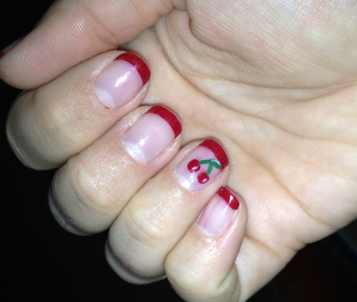 gel manicure bit the dust and started peeling after five days. My