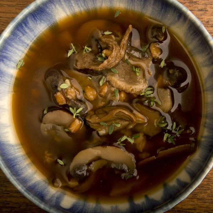 Mushroom Farro Soup. Mushrooms are so good for you – and tasty too ...