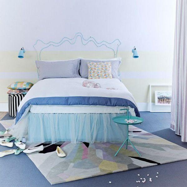 modern bedroom design in pastel color kids room pinterest