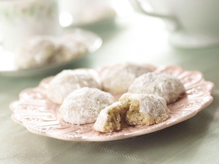 Almond Tea Cookies Recipe : Food Network - FoodNetwork.com
