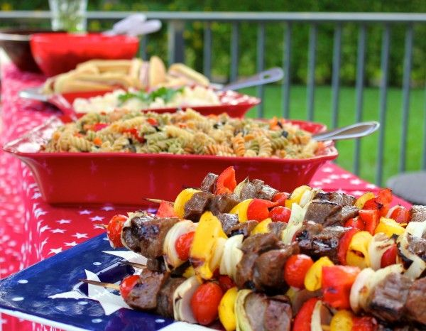 Labor day food ideas labor day pool party pinterest for Pool and food