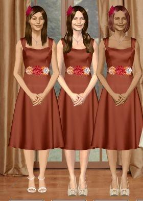 Virtual Bridesmaid Dresses 79