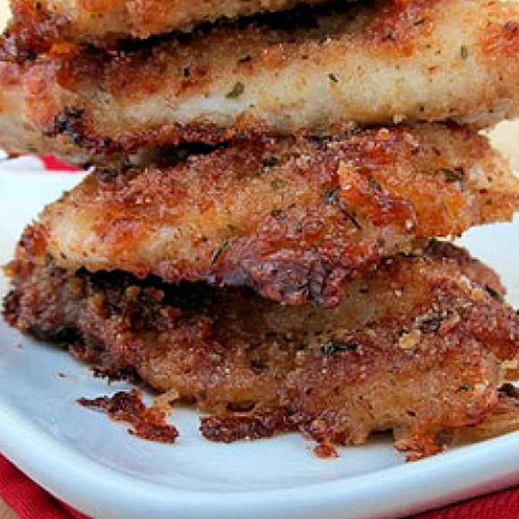 Parmesan Crusted Chicken | Food | Pinterest