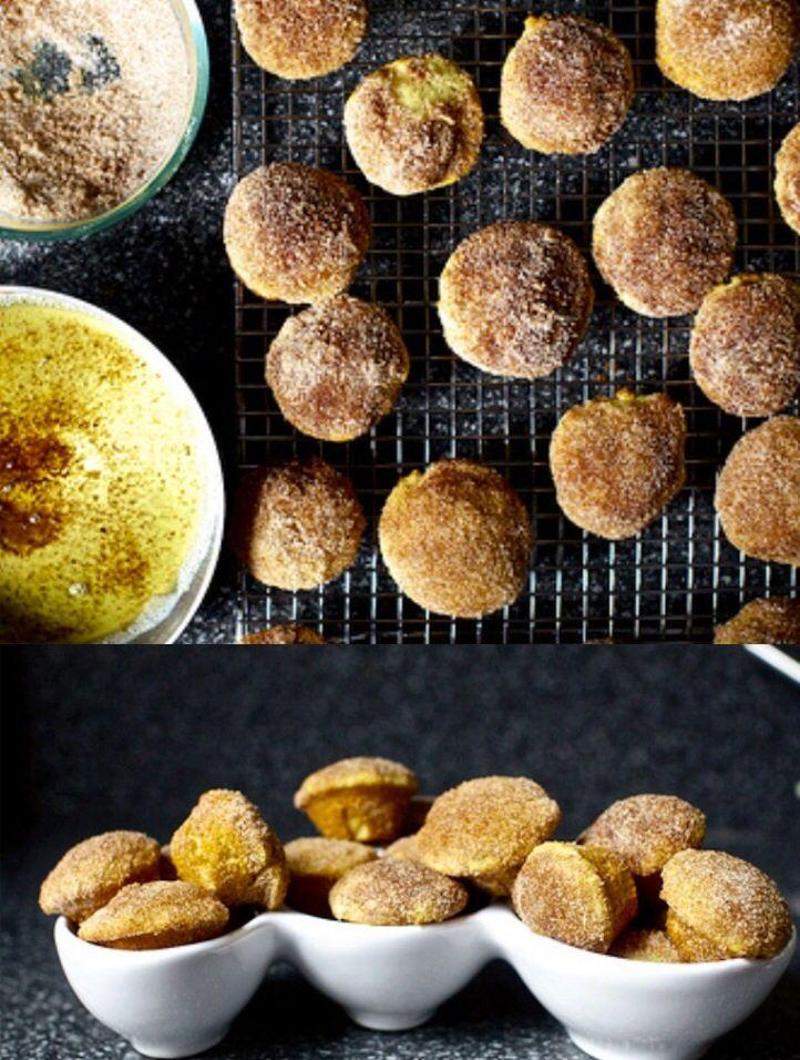 Cinnamon Brown Butter Breakfast Puffs   Hunger & Thirst   Pinterest