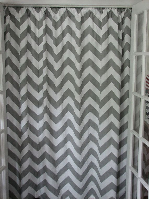 Designer Shower Curtains With Valance Kassatex Chevron Show