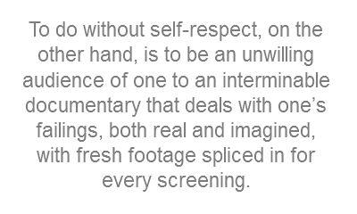 Self Respect Essays Free