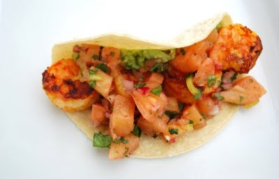 pineapple salsa recipe yummly shrimp tacos with melon pineapple salsa ...