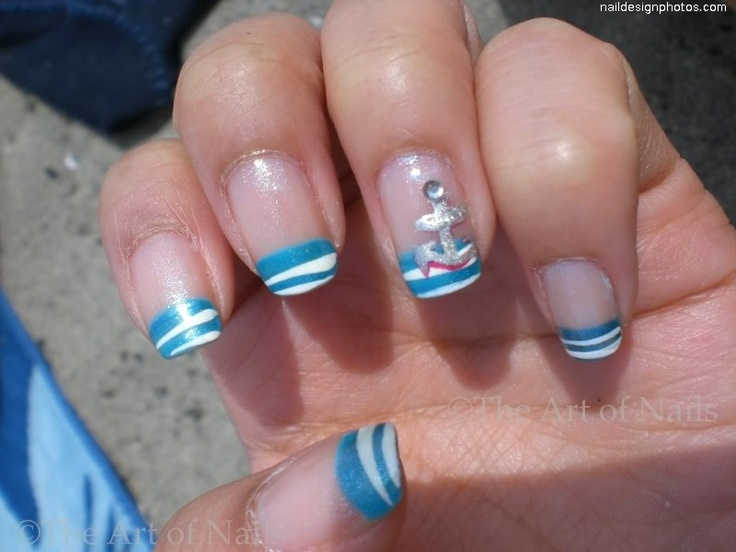 beach nail designs   Nails   Pinterest