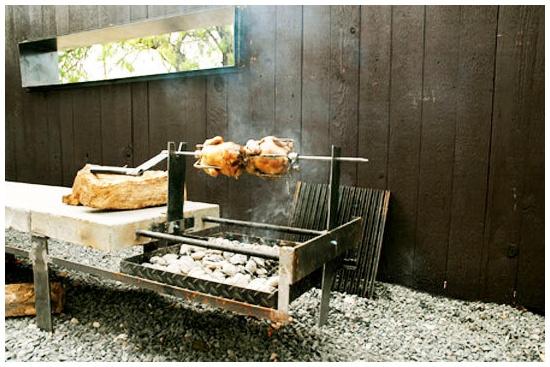 outdoor kitchen grill station home pinterest. Black Bedroom Furniture Sets. Home Design Ideas