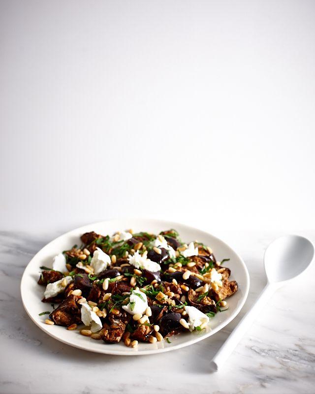 Spiced Eggplant & Buffalo Mozzarella Salad | Lush Loves