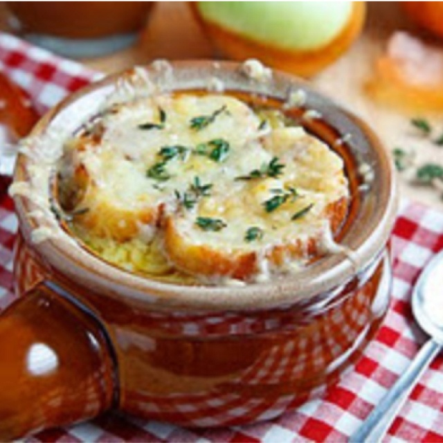 Granny Smith Apple French Onion Soup | YUMMY on the light side :) | P ...