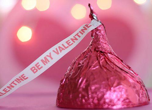 hershey kiss valentines day box