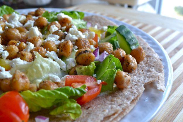 mediterranean chickpea wraps | Sandwiches: The Best Thing Since Slice ...