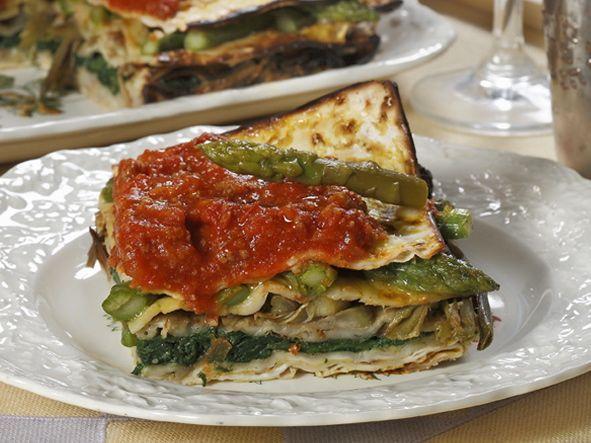 Tortino D'Azzima (Matzo Pie) Recipe — Dishmaps