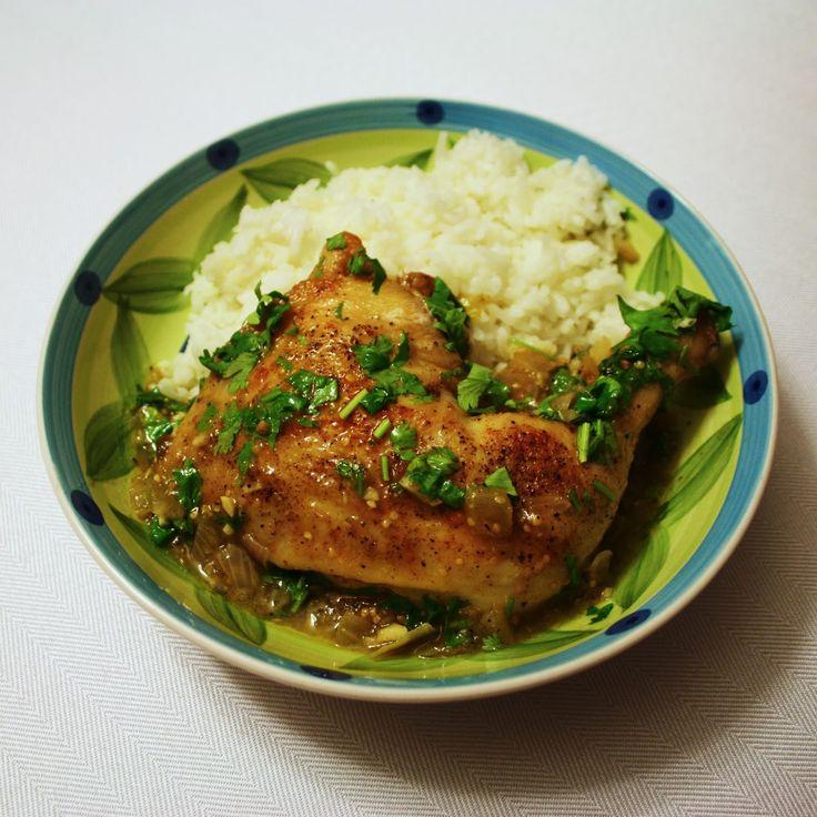The Stephwagens: Dinner Tonight - Tomatillo Braised Chicken - Mmmm!