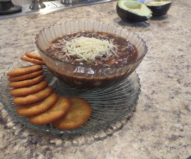 Black Bean Vegetable Soup. | Food & Drink | Pinterest