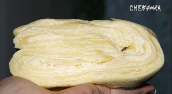 Тесто слоеное своими руками