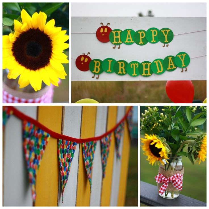 Ella's Hungry Caterpillar Birthday Party | The Barefoot Seamstress ...