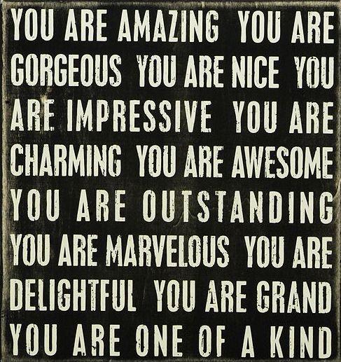 You Are Amazing And I Love You: 'You Are Amazing'