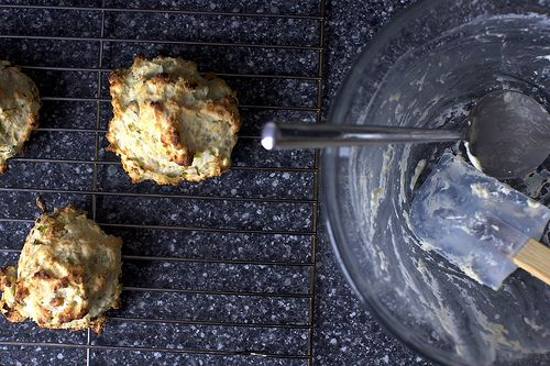 blue cheese scallion drop biscuits | cook | Pinterest