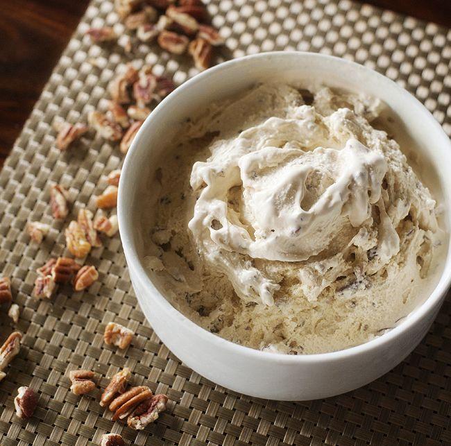 Pecan Maple Ice Cream | Ice Cream | Pinterest
