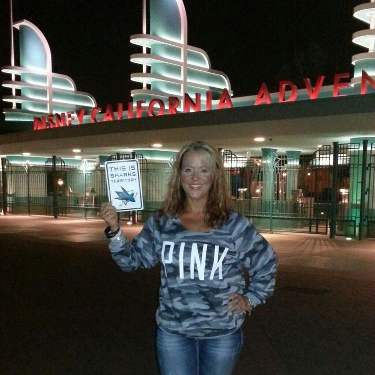 Twitter fan @Michelle Harris wants you to know where Sharks territory extends to this summer. #IsItOctoberYet