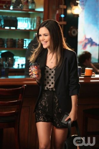 Short shorts and a jacket - Love all the clothes Rachel Bilson wears in Hart of Dixie